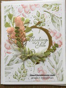 Forever Fern pastel card