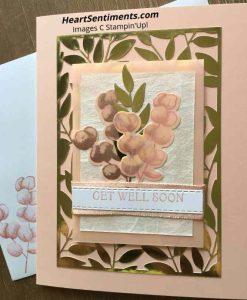 Petal Pink Fern card