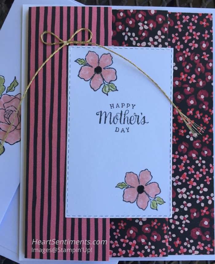 Happy Mother's Day card using Designer series paper