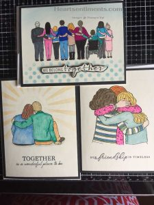 Diversity cards using download from Stampin'Up!