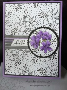 Beautifully penned card